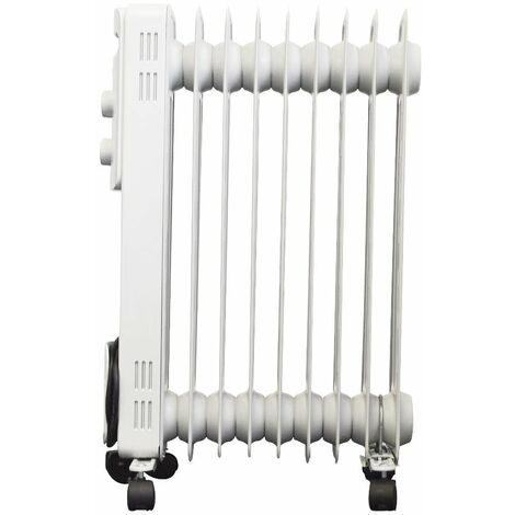 Oil Filled Radiator White