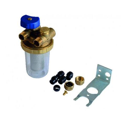 Oil filter twin-tube Mf3/8 - GIACOMINI : N1UY012