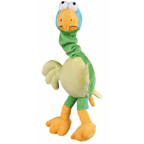 Oiseau avec son original, peluche - 30 cm