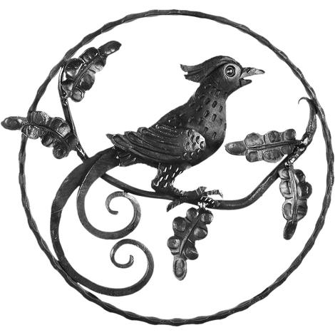 Oiseau en fer forgé
