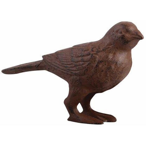 Oiseau en Fonte déco 13x5x8cm