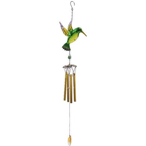 Oiseaux Hanging Ornement En Forme Multitubulaire Wind Chimes Exterieurs Pour La Maison Jardin Cour Arriere Eglise Hanging Decoration, Type 4