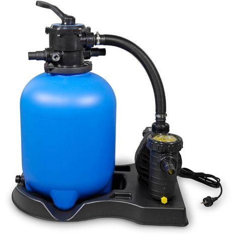 Sandfilterpumpe Poolpumpe Umwälzpumpe Filterpumpe Aqua Plus 8  Leistung 12 m³//h