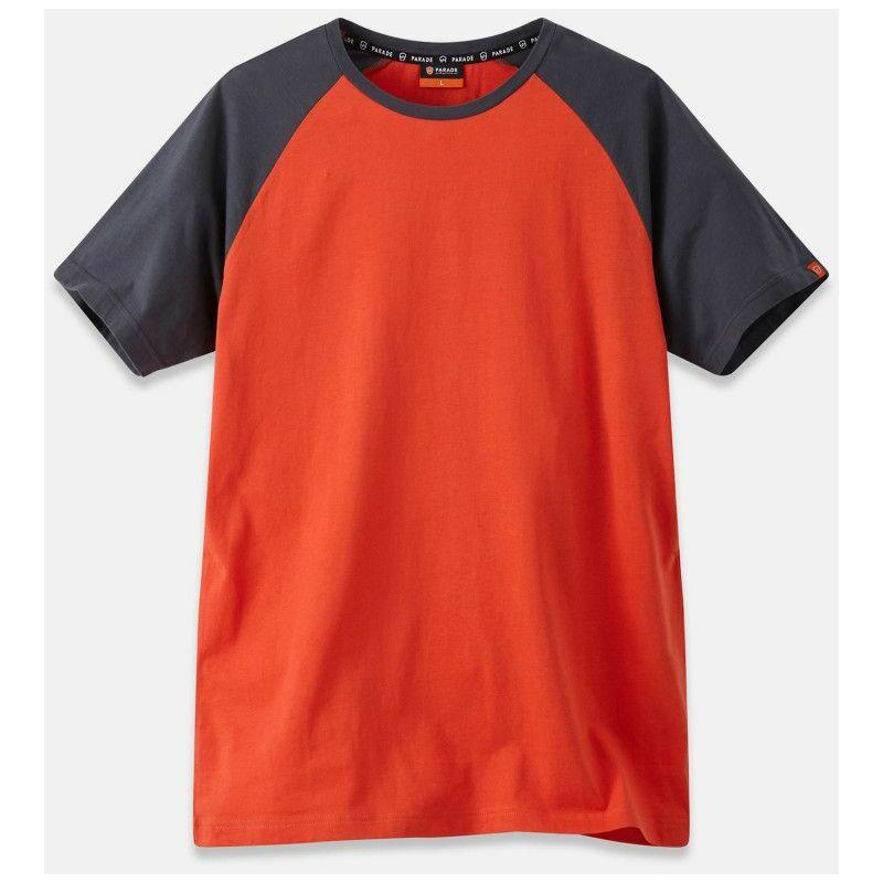 Parade - Olbia 1456- Tee-shirt de travail - Homme - taille : L - couleur : Orange Orange
