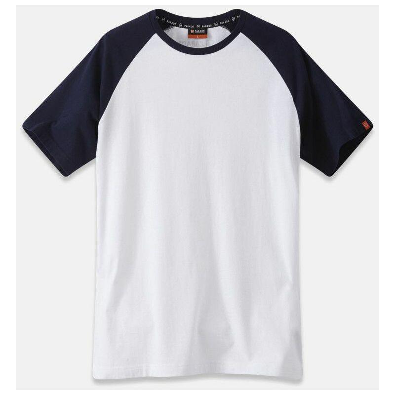 Olbia 1407- Tee-shirt de travail - Homme - taille : S - couleur : Blanc - PARADE - Blanc