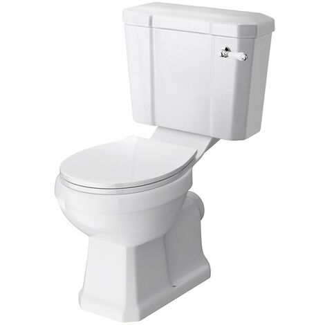 Old London Richmond Close Coupled Toilet & Deluxe Soft Close Seat