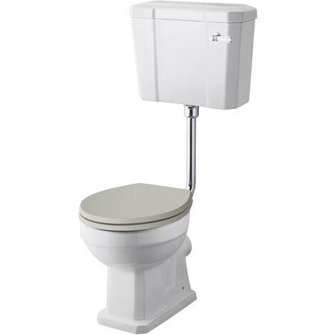 Old London Richmond Low Level Pan, Cistern & Flush Pipe Kit