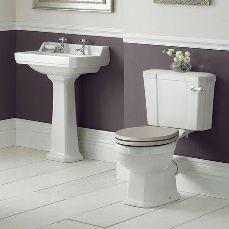Old London Richmond Toilet & Basin Bathroom Suite - 1 Tap Hole