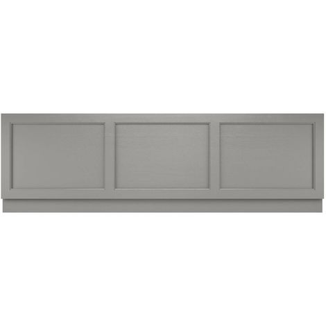 Old London Storm Grey 1800mm Bath Front Panel - LOP206