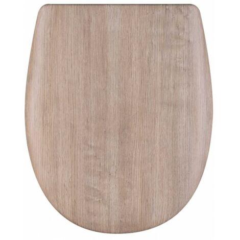 Olfa - Abattant Ariane effet bois abattant standard