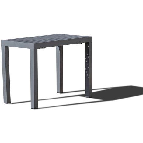 Olhao - Console extensible aluminium - 2/12 pl