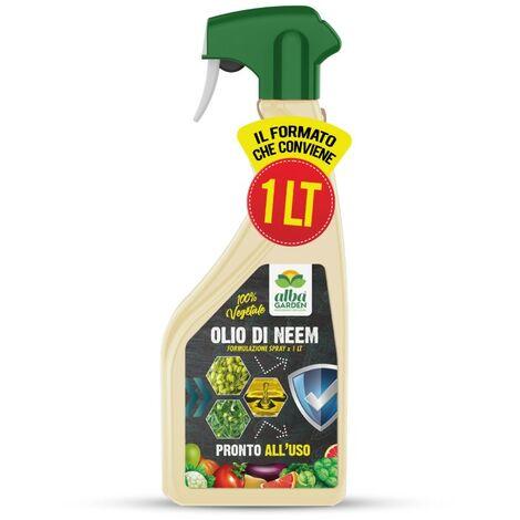 Olio di neem spray x 750 ml Insetticida Fungicida Acaricida