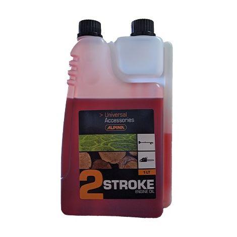 Olio Miscela Alpina 2 Stroke 1Lt con Dosatore