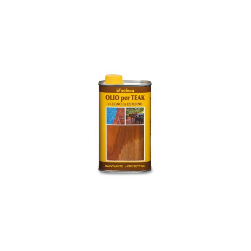 Olio Ravvivante Per legno TEAK Protegge Per Esterno Arredo Giardino 0,5 LT