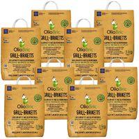 OLIOBRIC Olivenkern Grill-Briketts, 24 kg