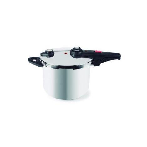Olla Cocina Presion 8Lt S/Rapida Red. Inox Master Lacor