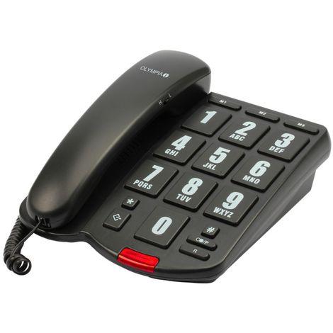 OLYMPIA 4205 Großtasten Komforttelefon