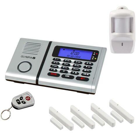 Olympia Funk - Alarmanlagen Set Protect 6061 mit Notruf- und Freisprechfunktion