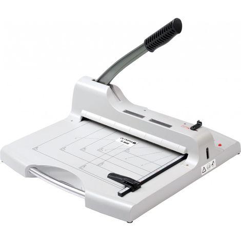 OLYMPIA G 3650 Profi Hebelschneidegerät für Stapelschnitt, DIN A4, bis 50 Blatt