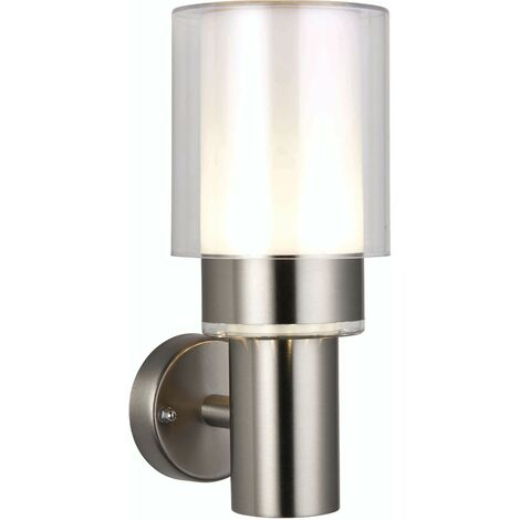 Olympia outdoor wall light Stainless steel