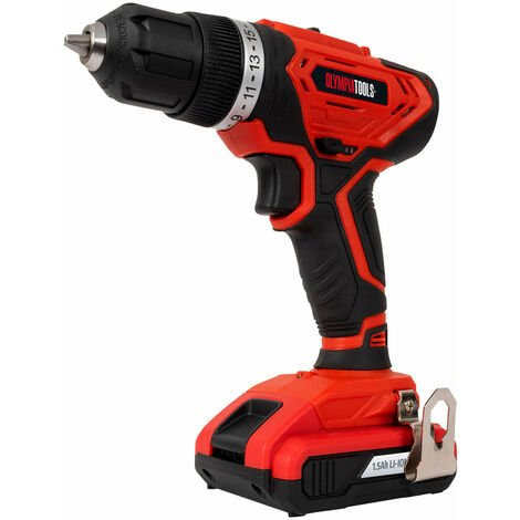 Olympia Power Tools 09-010 Cordless Drill Driver 20V 1 x 1.5Ah Li-ion