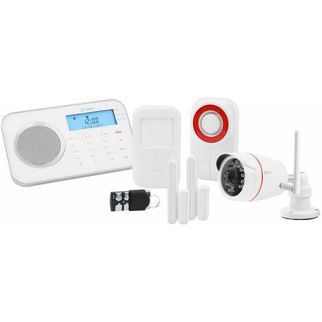 OLYMPIA ProHome 8791 Funk-Alarmanlagen System mit WLAN/GSM und Smart Home Funktionen