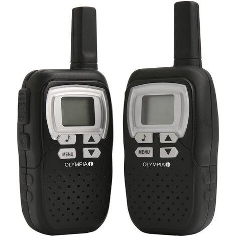 Olympia Talkie-Walkie émetteur-récepteur PMR manuel - Olympia 1208 - 500 mW 446 MHz