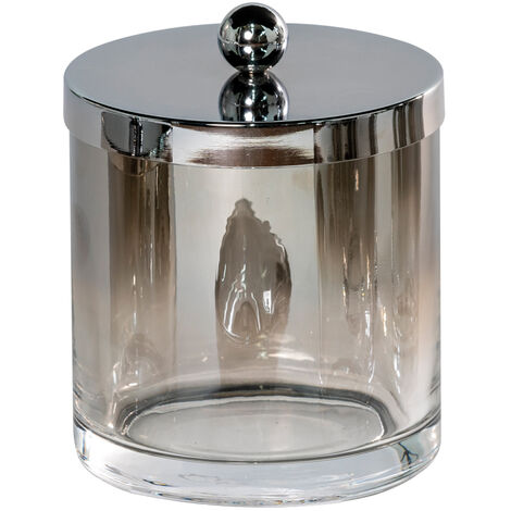Ombre Glass Large Storage Jar