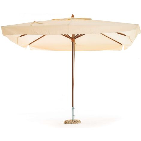 Ombrellone 3 X 2.Ombrellone Da Giardino 3x2 M Rettangolare In Legno My Garden Oasis