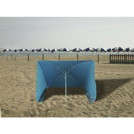 Ombrellone Portatile Da Spiaggia.Ombrellone Da Spiaggia Con Pareti 170x170 Cm Antiventi Ed Antisole Papillon