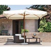 Ombrellone De Lux giardino 3x2 verde