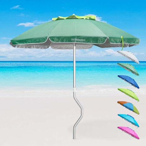 Ombrellone mare GiraFacile 200 Cm alluminio Protezione UV spiaggia pesca AFRODITE
