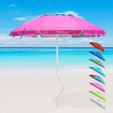 Ombrellone mare GiraFacile 220 Cm Protezione UV spiaggia pesca APOLLO