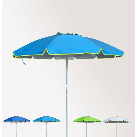 Ombrelloni Per La Spiaggia.Ombrellone Mare Spiaggia 220 Cm Alluminio Antivento Protezione Uv Roma