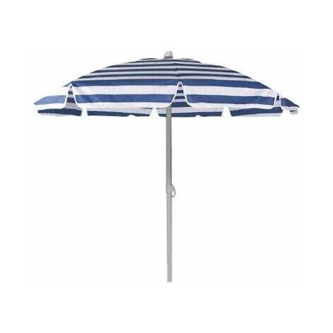 OMBRELLONE PONZA D.180 8 STECCHE da mare blu in acciaio per proteggere dal sole