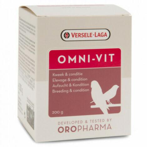 Omni Vit Oropharma en poudre soins pour oiseaux Pot 200 g
