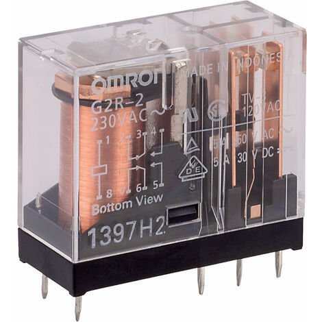 "main image of ""Omron G2R-2-230AC DPCO Power Relay 5A 230VAC"""