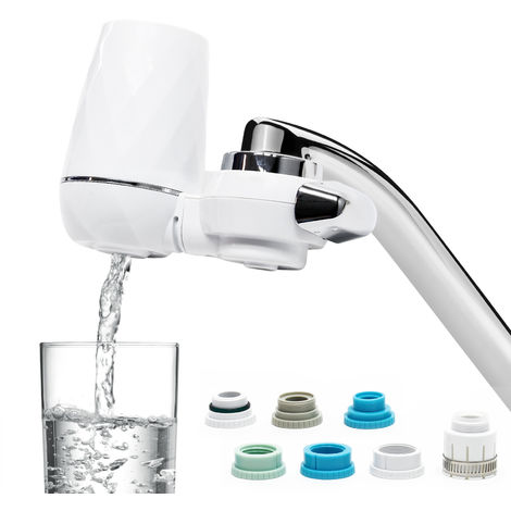 On Tap Water Filter for Tap Water with 9 Filter Layers, 120l/h