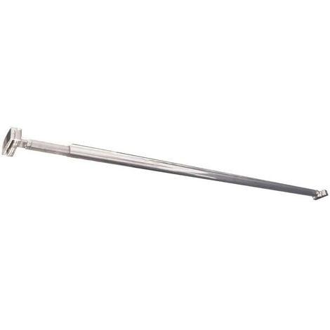 Ondée- Barre de fixation murale simple pour paroi de douche à l'italienne