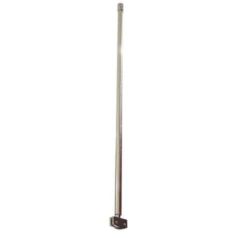Ondée - Barre de fixation plafond pour paroi de douche à l'italienne - TNT
