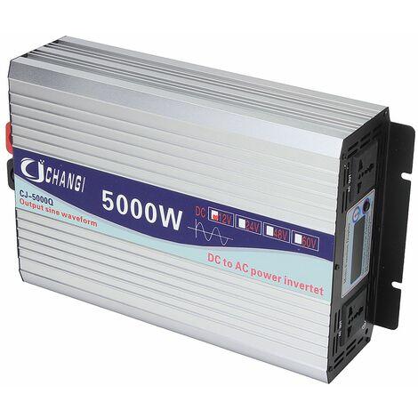 """main image of """"Onduleur 12V 220V 5000W Transformateur de tension intelligent onduleur solaire puissance à onde sinusoidale pure"""""""