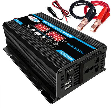 Onduleur A Onde Sinusoidale Modifiee A Haute Frequence 4000W Puissance De Crete Watt Power Inverter