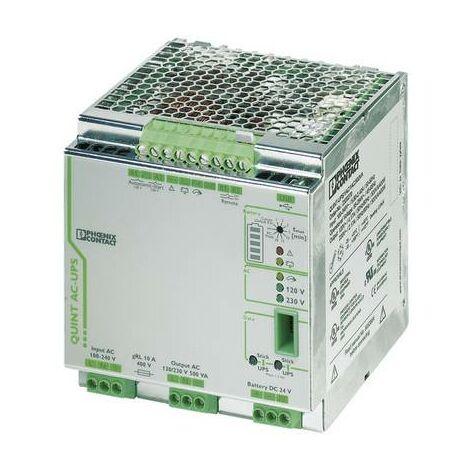 Onduleur (ASI) industriel - Installation (rail DIN) Phoenix Contact QUINT-UPS/ 1AC/1AC/500VA