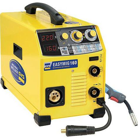 Onduleur de soudage manuel E GYS EASYMIG 160 230V, 50/60Hz monophase