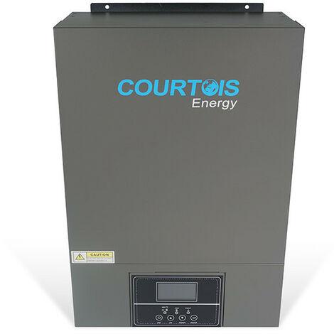 Onduleur Hybride 3.5kw V PLUS Haute Tension - 24V MPPT 100A