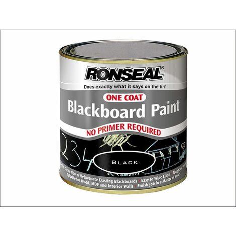 One Coat Blackboard Paint 250ml RSLOCBBP250