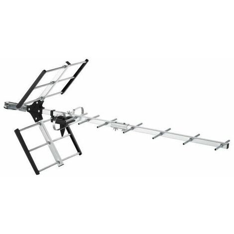 ONE FOR ALL SV9354 - Antenne TV extérieure TNT, Full HD, Filtre 4G - Gris