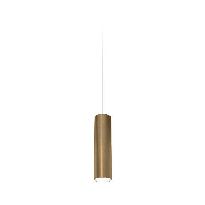Homemania - One Haengelampe - Kronleuchter - Deckenkronleuchter - Bronze, Schwarz aus Aluminium, 10,5 x 10,5 x 38 cm, 1 x LED, 15W, 1097lm, 3000K,
