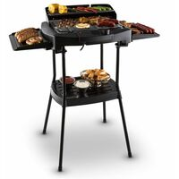 oneConcept Dr. Beef II Tischgrill Elektrogrill Standgrill 2000W Thermostat