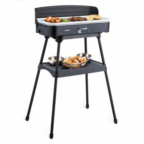 oneConcept Porterhouse Barbecue électrique Grill de table 2200W céramique